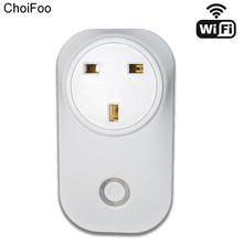UK/EU/US Plug Wireless WiFi Smart Socket Home Outlet Remote Controls Power with Amazon Alexa Timing Switch Smartphone via APP