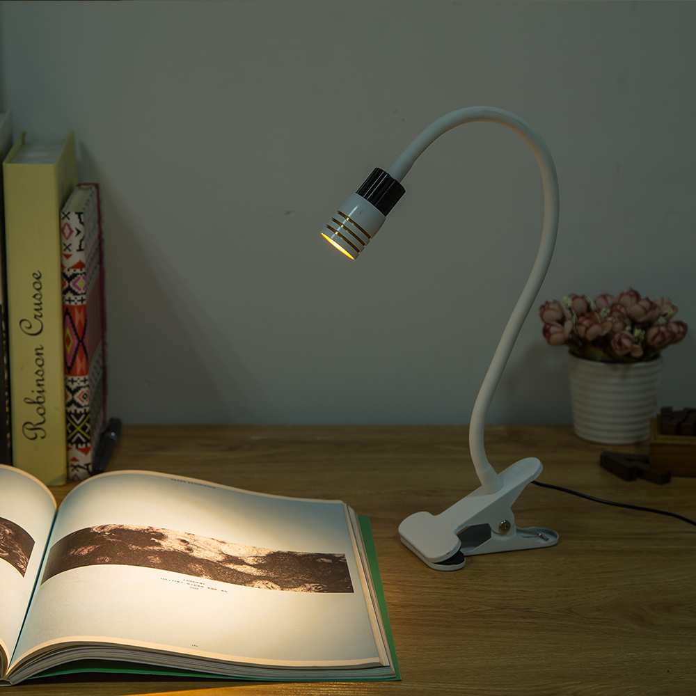 USB Table Lamp Clip Holder Desk Lamps Dimmable Flexible Bedside lamps for the study bedroom living room decorationUSB Table Lamp Clip Holder Desk Lamps Dimmable Flexible Bedside lamps for the study bedroom living room decoration