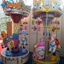 Мини-карусель проигрыватель детские аттракционы оборудование парка развлечений