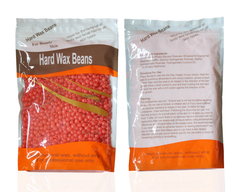 Drop Ship 100g No Strip Depilatory Hot Film Hard Wax Pellet Waxing Bikini Hair Removal Bean More Colors For Women Men