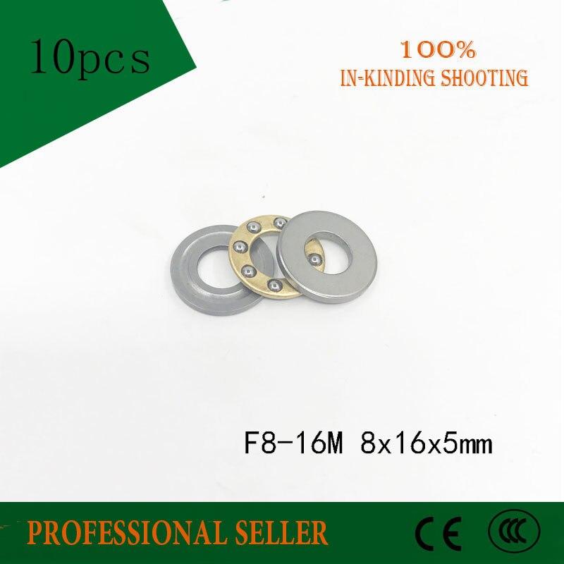 10pcs Axial Ball Thrust Bearing F8-16M  8×16×5mm  8*16*5mm