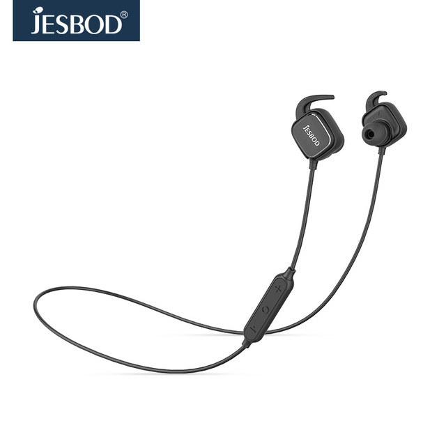 jesbod  stereo sport wireless bluetooth headphones Magnet switch Earphone Function Adsorption Headset with Mic Hands free calls