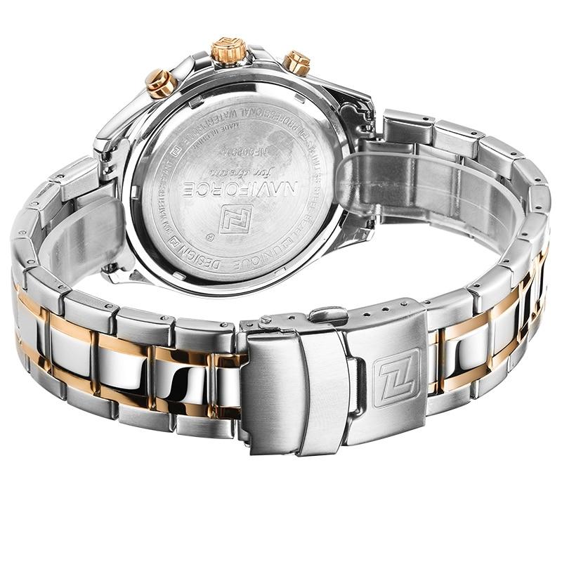 NAVIFORCE Moda Relojes Casuales Hot Brand Hombres Deportes Reloj - Relojes para hombres - foto 6
