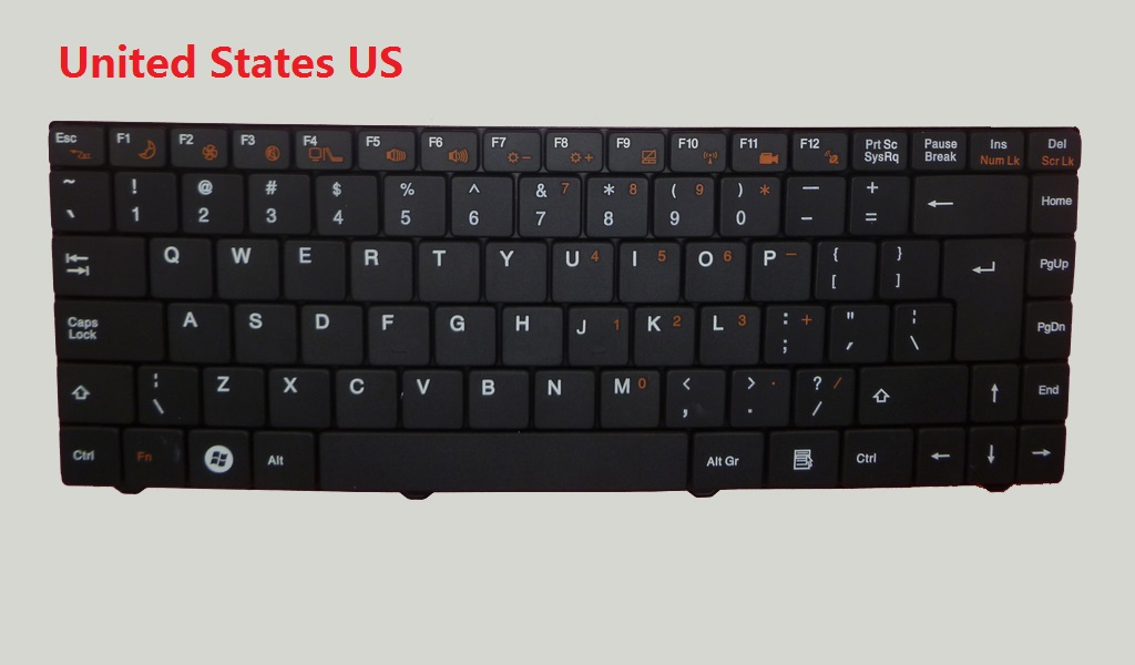 все цены на Laptop Keyboard For Gigabyte E1425 E1425A E1425M United Kingdom UK United States US