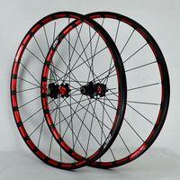 MTB Mountain Bike Wheelset CNC 26/27.5inch Wheels Pull Straight Sealed Bearing Disc Brake Bicycle Wheel Set 7/8/9/10/11 Speed