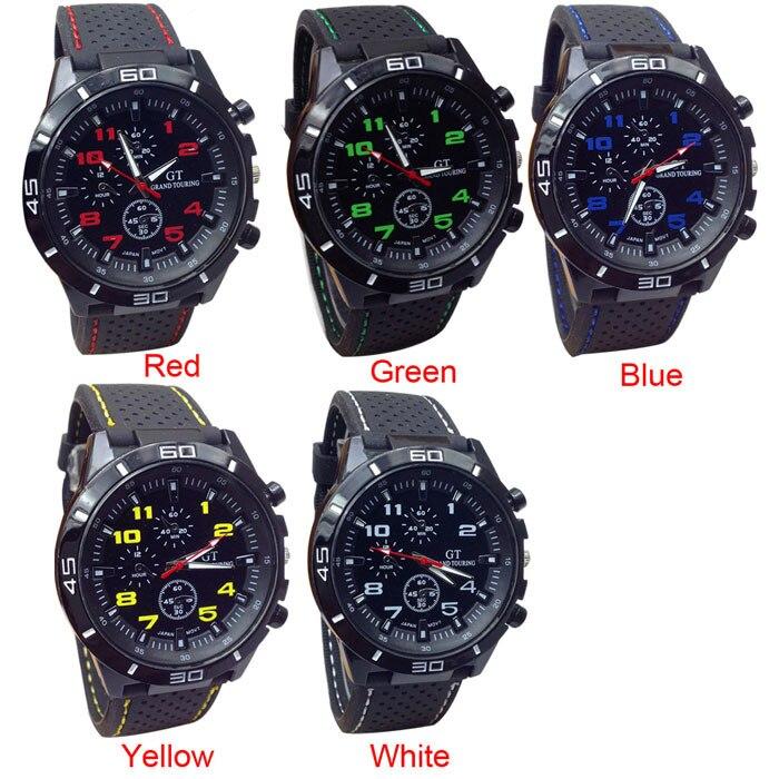 купить 2015au Quartz Watch Men Military Watches Sport Wristwatch Silicone Fashion Hours ,watch men sport waterproof relogio masculino по цене 44.56 рублей