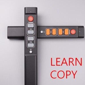 Image 1 - 6 개의 열쇠는 텔레비젼 STB DVD 상자 DVB hifi를위한 원격 제어 일을 배우십시오, 사용하기 편한 텔레비젼 상자를위한 보편적 인 똑똑한 관제사