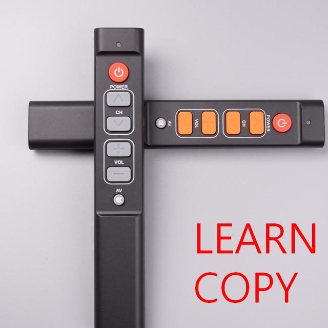 6 개의 열쇠는 텔레비젼 STB DVD 상자 DVB hifi를위한 원격 제어 일을 배우십시오, 사용하기 편한 텔레비젼 상자를위한 보편적 인 똑똑한 관제사