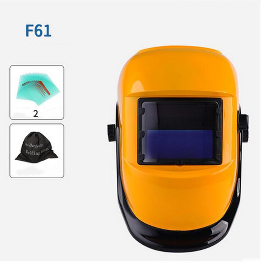 2 Arc Sensor Big Sreen Solar LI Battery Auto darkening TIG MIG MMA MAG Electric Welding Mask welder Cap цены