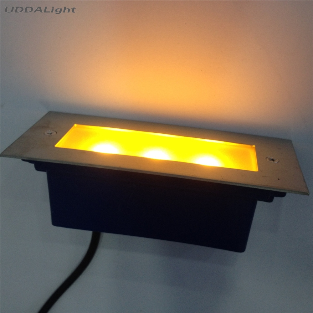 Led Underground Lamps 10pcs/lot 170*70*55mm Deck Light 3w Garden Light Step Light Easy To Repair Lights & Lighting