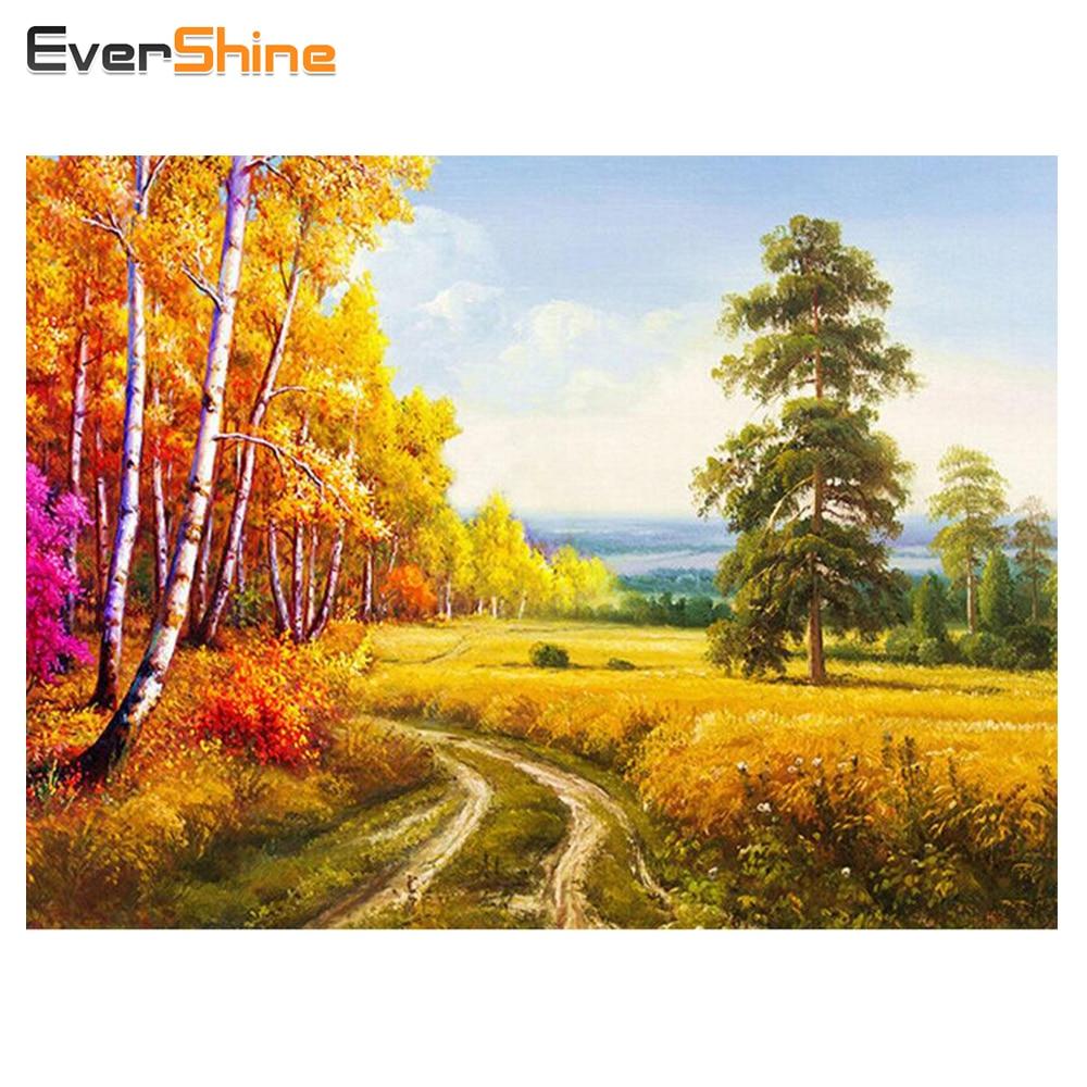 Aliexpress.com : Buy EverShine DIY Diamond Painting Landscape ...