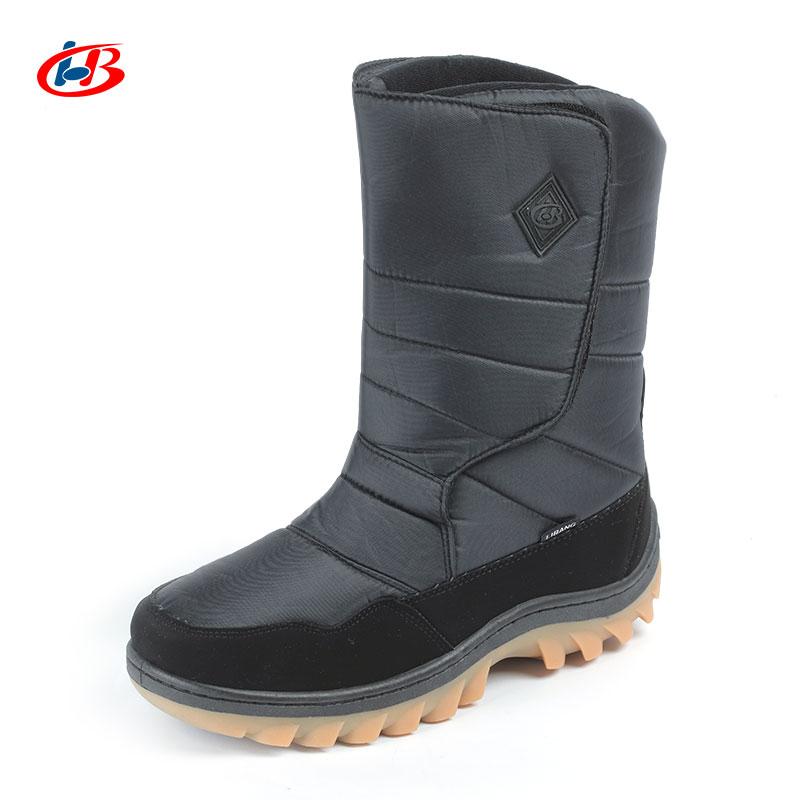 LIBANG Brand New Boots Men Mid-Calf Warmful Winter Boots Men Snow Boots Non-slip Waterproof Winter Shoes for Men Plus Size 41-46 libang кеды