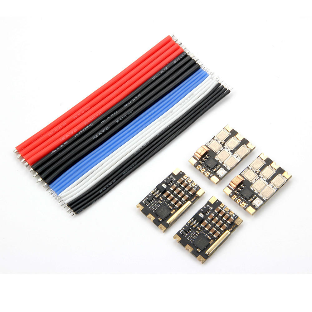 4 PCS Holybro Tekko32 F3 Metal ESC 65A BLheli_32 DShot1200 3 6S ESC w/ F3 MCU & LED for RC Drone-in Parts & Accessories from Toys & Hobbies    1