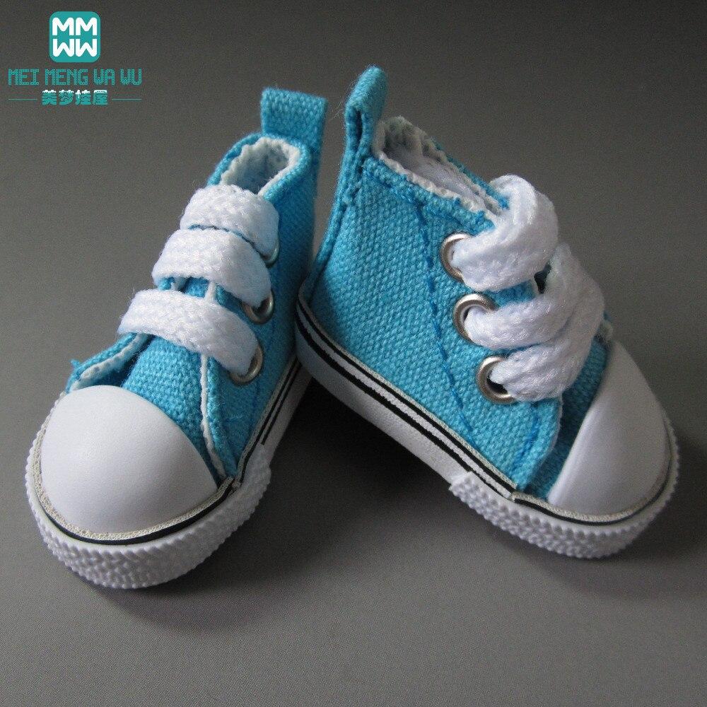 5cm doll Shoes fits1 / 6 bjd doll mini - Boneka dan mainan lunak - Foto 5