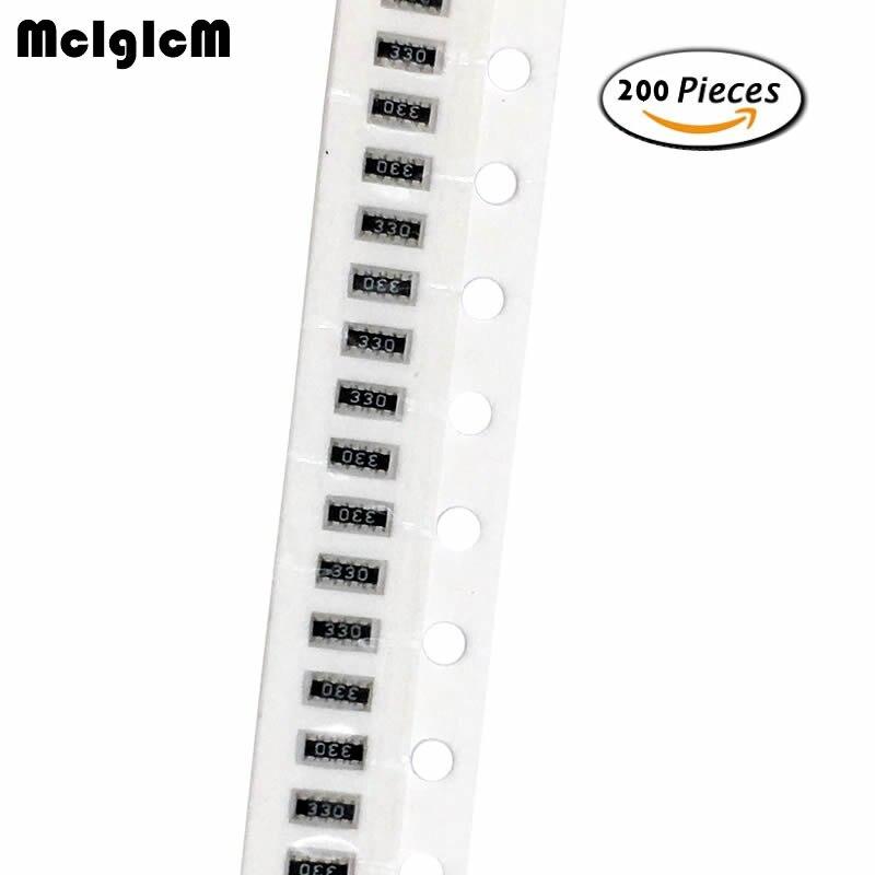 Mcigicm 200pcs Smd Exclusion 0603 8p4r 2*4p Network Resistor Array 0 Ohm ~ 910 Ohm , 1k Ohm ~ 910k Ohm Superior Performance