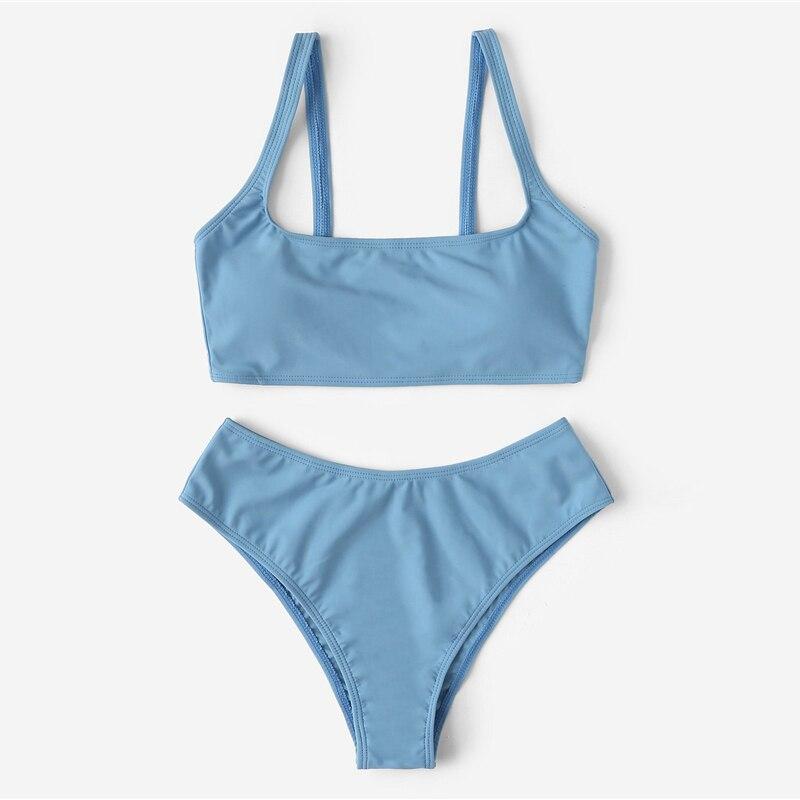 Cheeky High Waist Bikini Set 6