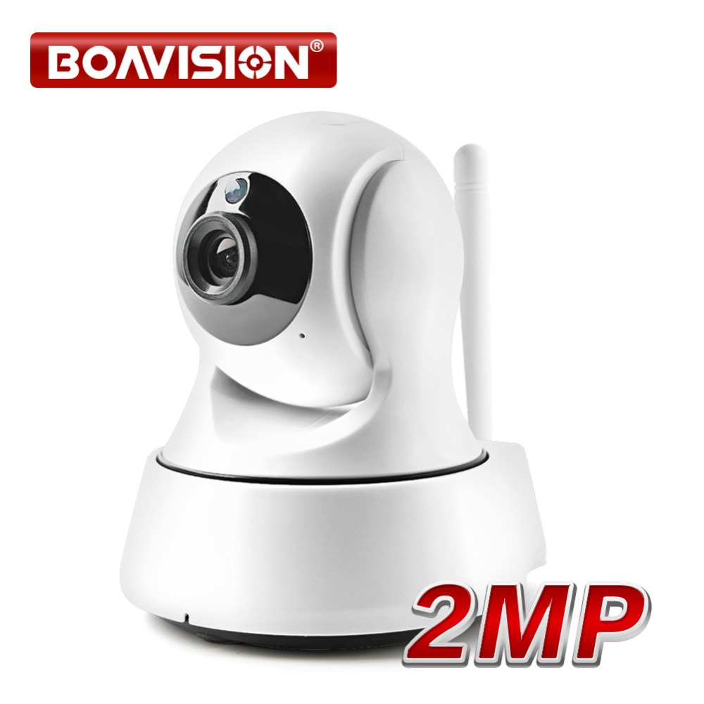BOAVISION 1080P WIFI IP Camera Wi-FI Pan Tilt Night Vision Two Way Audio HD 2MP Wireless CCTV Surveillance Camera P2P APP View gakaki indoor hd 960p wifi video surveillance monitoring security wireless ip camera with two way audio ir night vision pan tilt