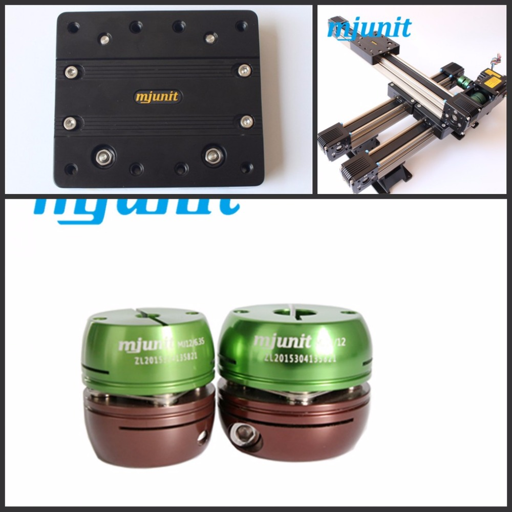 MJUNIT Shaft Coupling Rigid CNC Stepper Motor Coupler Connector Shaft Coupler servo shaft coupling купить