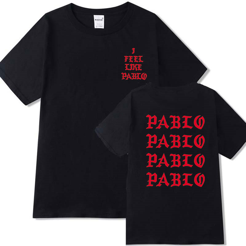 100% Cotton Pablo tshirt homme T-Shirts