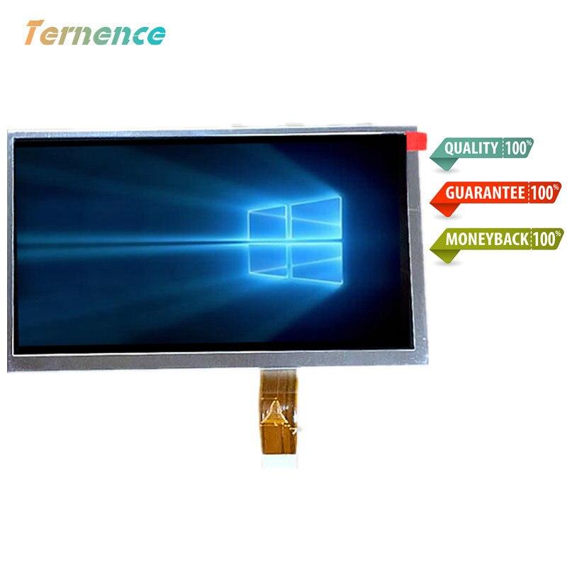 Skylarpu Original 7 inch TFT LCD screen for A070FW03 V8 V.8 GPS LCD display Screen panel Repair replacement Free shipping