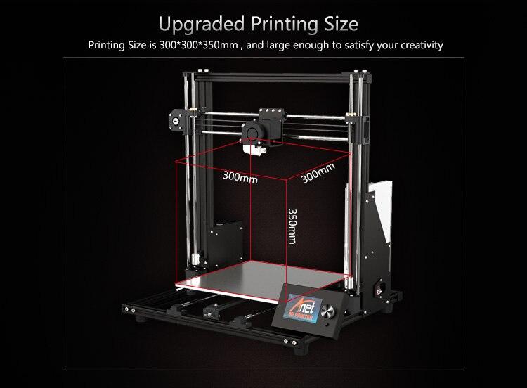Anet et4 a8 mais impressora 3d kit