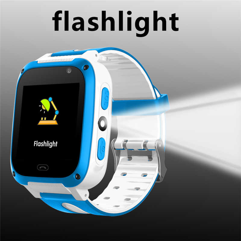 WISHDOIT LED Color Touch Screen Children SmartWatch LBS Positioning Tracker Kids Watches SOS Security Baby Watch Support SIM+Box