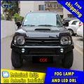 Car-styling LED fog light for Suzuki Jimny LED Fog lamp with lens and LED day time running ligh for car accessories