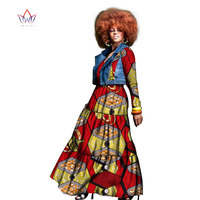 2017 Autumn African Dress For Women Two Pieces Coat And Dress Traditional African Clothing Dashiki Plus