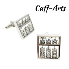 Cuffarts Cufflinks for Mens Abacus Shirt Cuff links High Quality Gifts Men  Jewelry Gemelos Bijoux Homme C10185