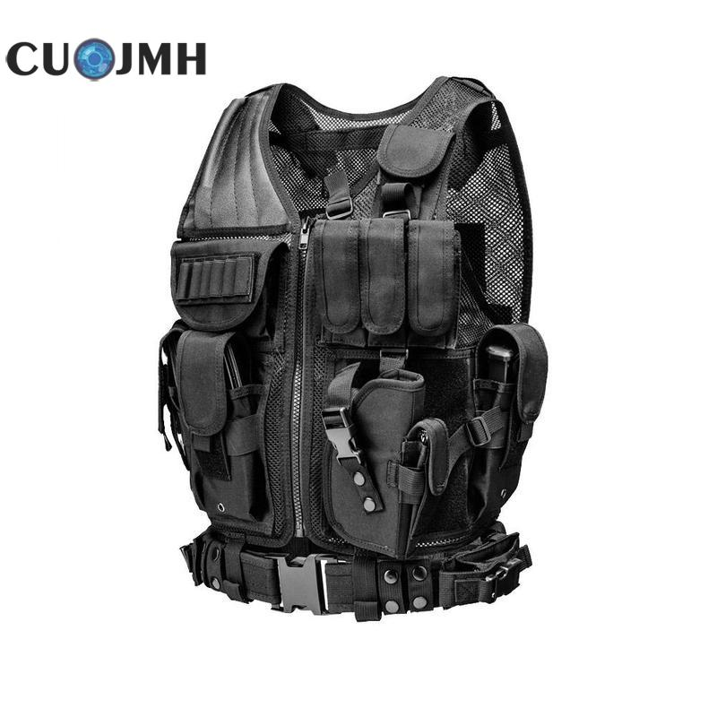 Tactical Vest Multifunctional Tactical Equipment Military Training Black Outdoor Camouflage Military Sports Wear Hunting Vest сумка pacific outdoor equipment wxtex hotsport iii black