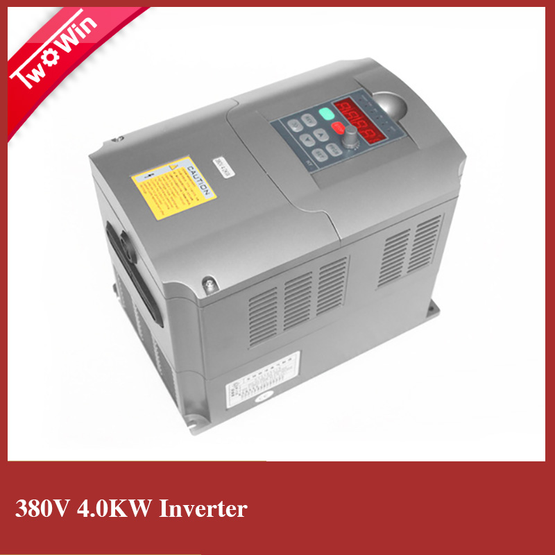 380v ac 4kw 5hp vfd variable frequency drive vfd inverter for Inverter for 3 phase motor