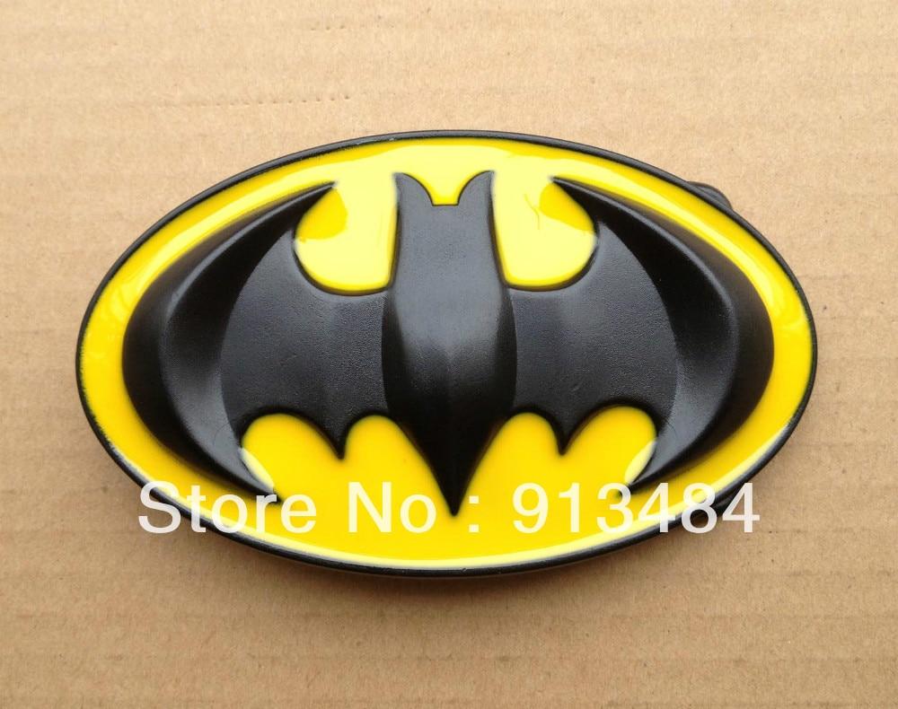 37883cab709 3D jaune Batman ceinture boucle B51 de approprié pour 4 cm wideth ceinture.  livraison gratuite dans Boucles et Crochets de Maison   Jardin sur ...