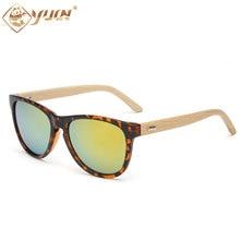 New hot real bamboo sunglasses women men retro handmade bamboo wooden sun glasses bambu arms eyewear oculos sunglasses 1503