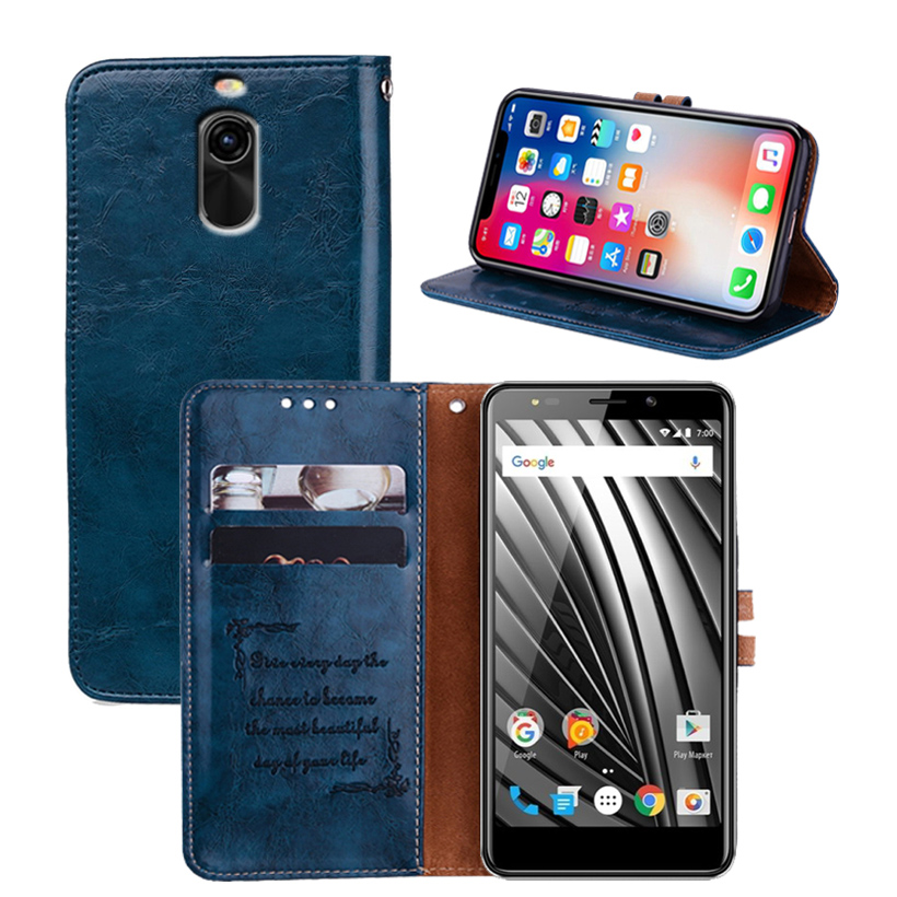 Newest Wallet Case For Vertex Impress Razor Case Back Cover Case 5.0 100% Special PU Leather Flip Cover Phone Bag B01