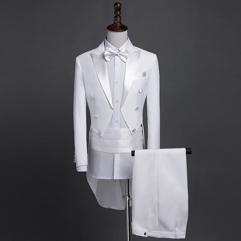 New Era Factory Outlet Mens 1//8 Wing Tip Collar Ivory//Cream Tuxedo Shirt
