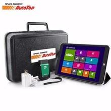 2017 Más Reciente Vpecker Easydiag V9.7 WIFI OBD2 Scanner Automotriz + 8 pulgadas Win10 Dual OS Tablet Auto Coche ODB OBD2 Scaner Automotivo