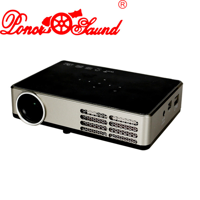 Poner Saund Full Hd New Mini Projector Proyector Led Lcd: Online Kaufen Großhandel 4000 Ansi Lumen Aus China 4000