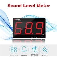 SNDWAY Sound Level LCD Decibel Meter Noise Measurement Detector Digital Audio Indicator SW 525A Gereedschap dB Alarm Funciton