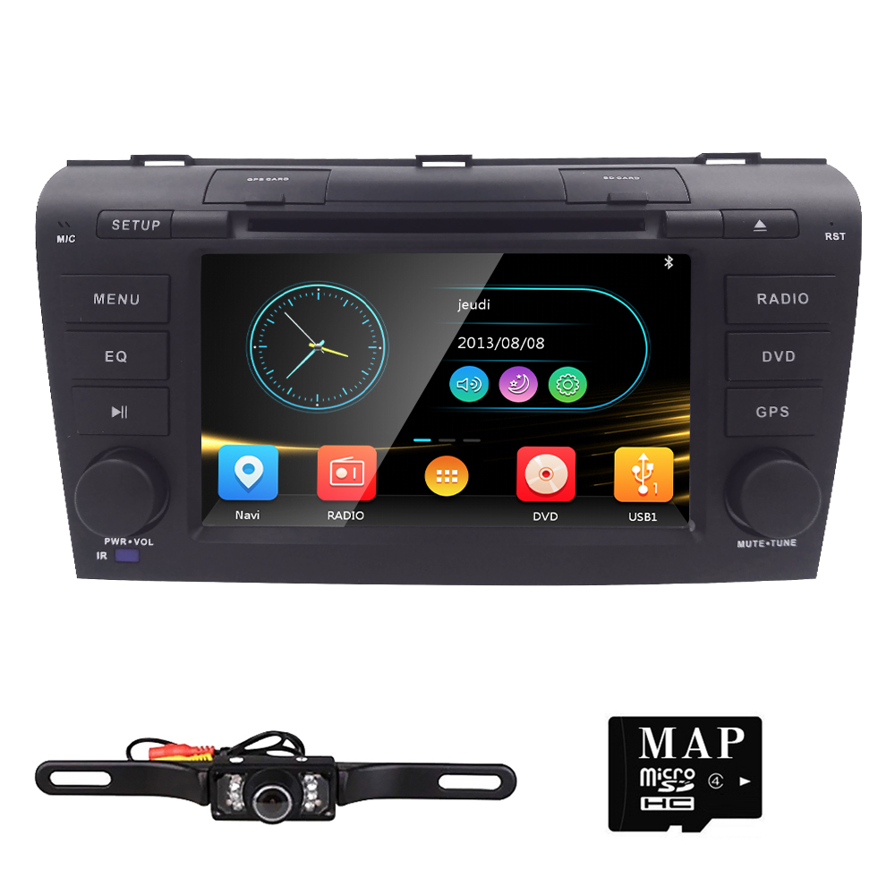 Free shipping 2004 2007 car dvd for mazda 3 navigation system multimedia system dvd car