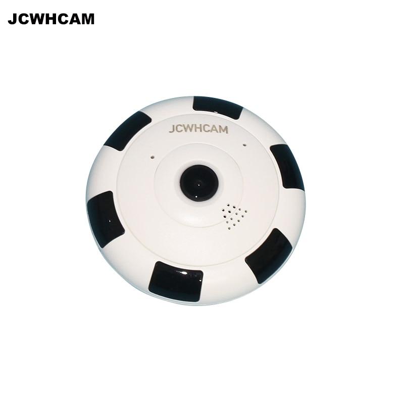 JCWHCAM HD 1080P WIFI Camera 360 Degree Panorama  Fisheye Mini Wireless IP Camera Home Security Surveillance CCTV Camera