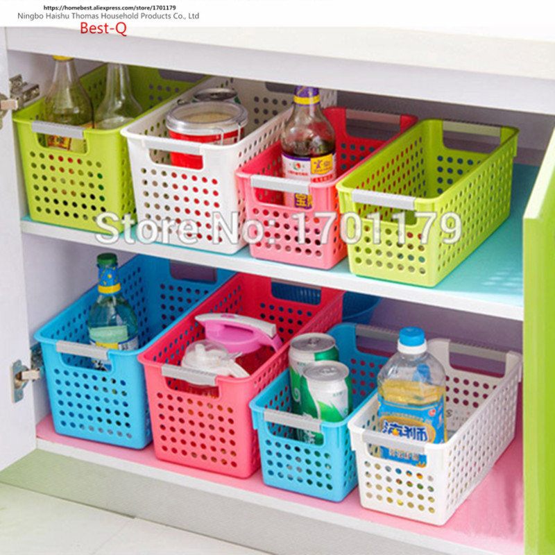 Etonnant Free Shipping Multi Colored Thickening Rectangle Plastic Storage Basket  Bathroom Desktop Storage Box Basket Plastic In Storage Boxes U0026 Bins From  Home ...