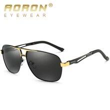 AORON Мужские поляризационные солнцезащитные очки мужские очки фирменный дизайн алюминиевая магниевая оправа UV400 Солнцезащитные очки