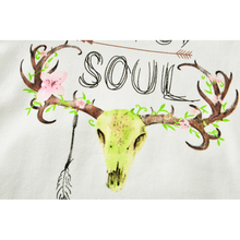 Summer Mother Daughter Dress Clothes Cartoon Deer T shirt+Dresses+Romper Mother Daughter Son Clothes New Family Matching Clothes