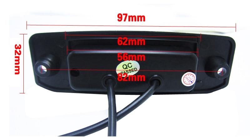 Cromo frontal//trasera coche matrícula titular montaje envolvente /& 19mm Cinta Adhesiva