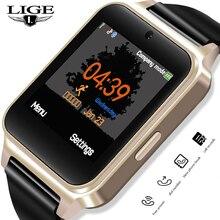 Get more info on the LIGE New Smart Watch Men Women Fashion Sport Pedometer Clock Fitness Watch Information Reminder Support SIM Card Reloj Hombre