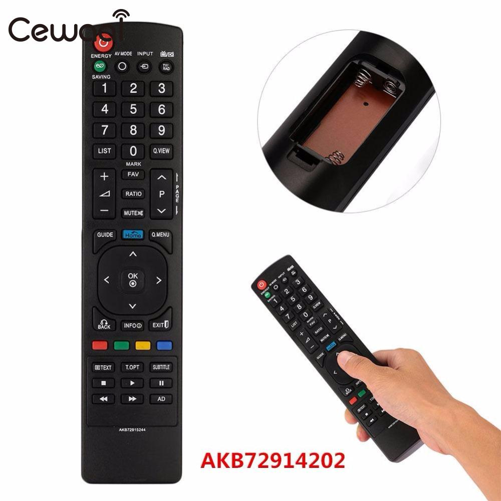 Cewaal Remote Control Mag254 Replacement For Linux System Smart TV LCD HDTV Television For Set Top Box Mag254