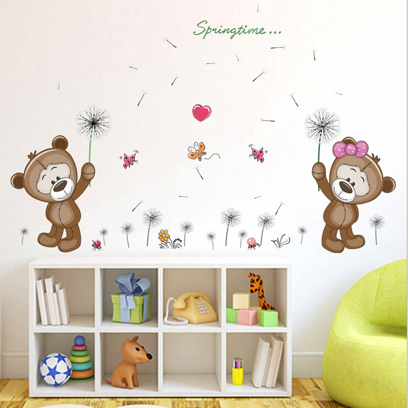 NEW Removable Vinyl Wall Decal Nursery-Stickers Kids Baby Room DIY Home Decor