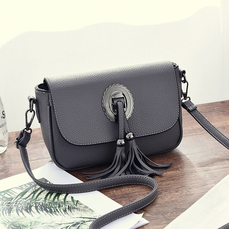 2017 Fashion Women PU Leather Messenger Bag Handbag Ladies Small Crossbody Bags Famous Brands Designers Shoulder Bags Girls