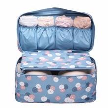 Portable Travel Organizer Cosmetic Bag Women Underwear Bra Toiletry Wash Storage Case Makeup Bags In Bag korean handbags
