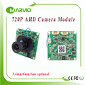 720P 1MP (Million Pixel) AHD AHD-L Analog High Definition CCTV Camera module board with UTC Built-in ircut and lens